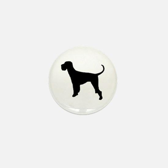 Dog Giant Schnauzer Mini Button