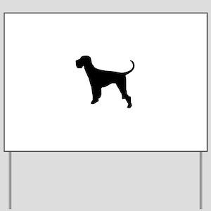 Dog Giant Schnauzer Yard Sign