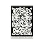 Celtic Knotwork Quasar Rectangle Magnet