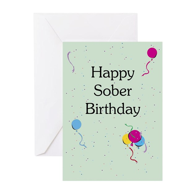 Sobriety birthday card blank inside pack of 10 by amysdesigns bookmarktalkfo Choice Image