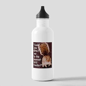 Squirrel Bird Stainless Water Bottle 1.0L