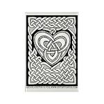 Celtic Knotwork Heart Rectangle Magnet