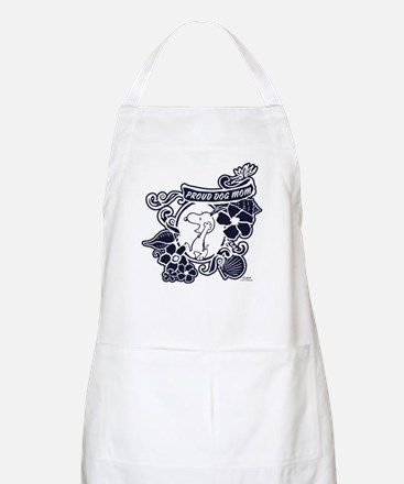 Snoopy Proud Dog Mom Light Apron