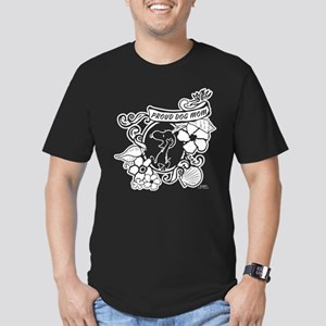 Snoopy Proud Dog Mom Men's Fitted T-Shirt (dark)