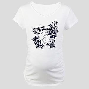 Snoopy Proud Dog Mom Maternity T-Shirt