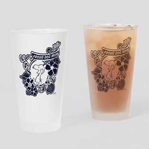 Snoopy Proud Dog Mom Drinking Glass
