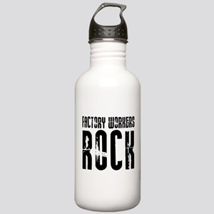 Factory Workers Rock Stainless Water Bottle 1.0L