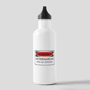 Attitude Veterinarian Stainless Water Bottle 1.0L