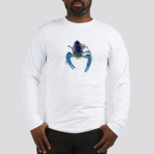 Blue Crayfish Long Sleeve T-Shirt