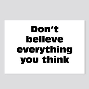 Believe Everything You Think Postcards (Package of