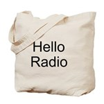 Hello Radio Tote Bag