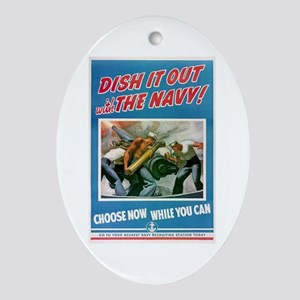Dish It Out! Ornament (Oval)