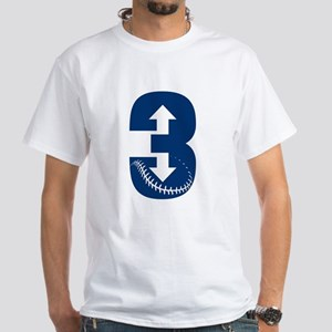 3-up 3-down NAVY T-Shirt