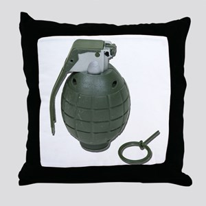 Grenade Throw Pillow