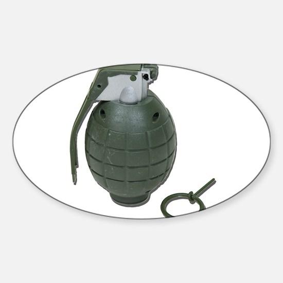 Grenade Sticker (Oval)