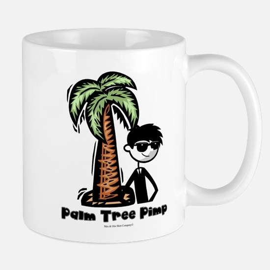Palm Tree Pimp – custom desig Mug