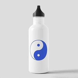 Yin & Yang (Blue/White) Stainless Water Bottle