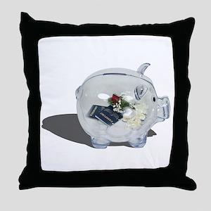 Honeymoon Savings Throw Pillow