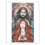 Hades & Persephone Small Poster