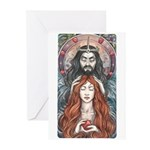 Hades & Persephone Greeting Cards (Pk of 20)
