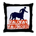 Centaur Throw Pillow