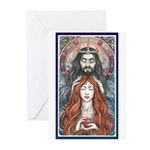 Hades & Persephone Greeting Cards (Pk of 10)