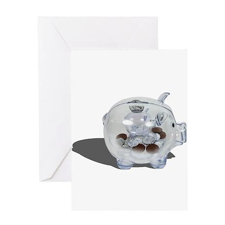 Nickel and Dime Savings Greeting Card