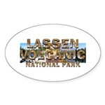ABH Lassen Volcanic Sticker (Oval 10 pk)