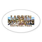 ABH Lassen Volcanic Sticker (Oval 50 pk)