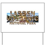 ABH Lassen Volcanic Yard Sign