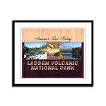 ABH Lassen Volcanic Framed Panel Print