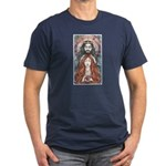 Hades & Persephone Men's Fitted T-Shirt (dark)