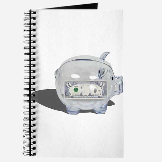 Piggy Bank Zero Savings Journal