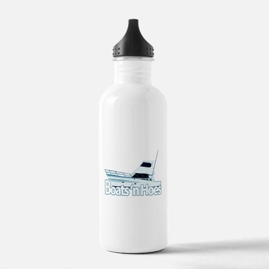 Boats n' hoes Water Bottle