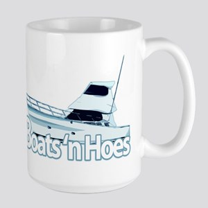 Boats n' hoes Large Mug