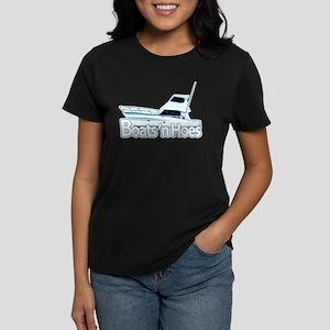 Boats n' hoes Women's Dark T-Shirt