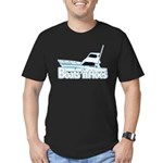Boats n' hoes Men's Fitted T-Shirt (dark)