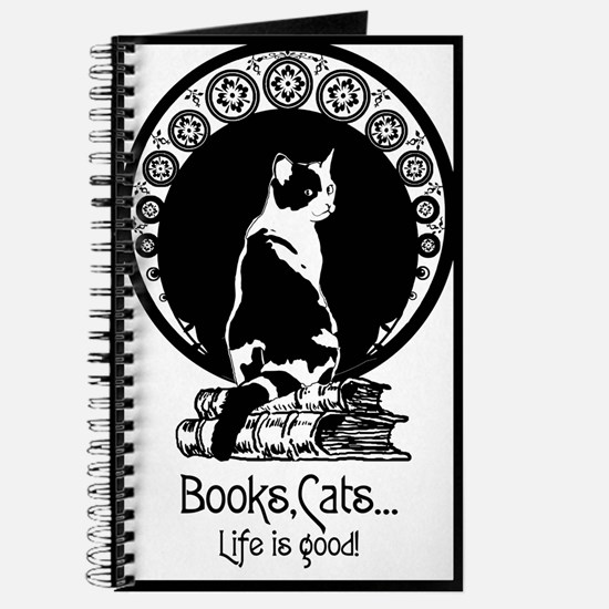 Books,Cats,Life is good Journal