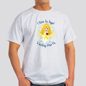 Angel Watching Me Yellow Ribb Light T-Shirt