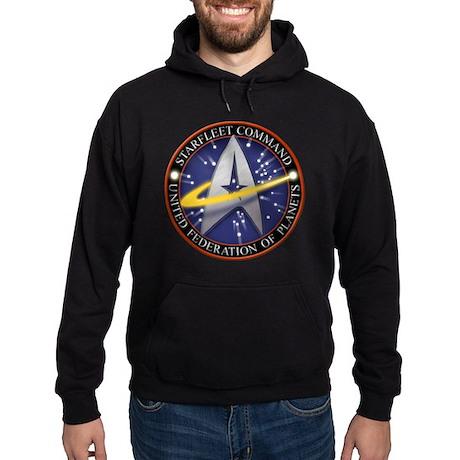 Star Fleet Command 3D Hoodie (dark)