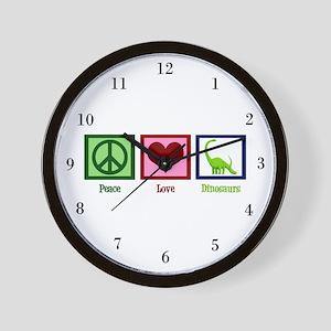 Cute Dinosaur Wall Clock