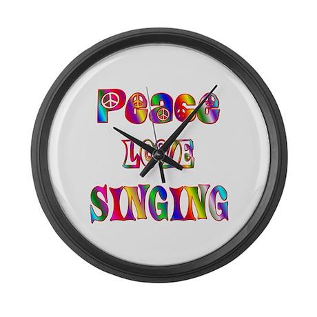 Singing Large Wall Clock