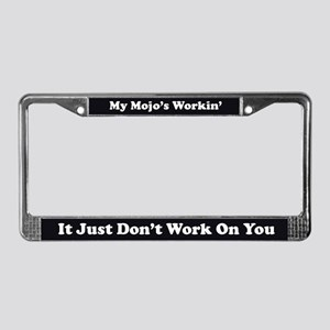 Mojo License Plate Frame