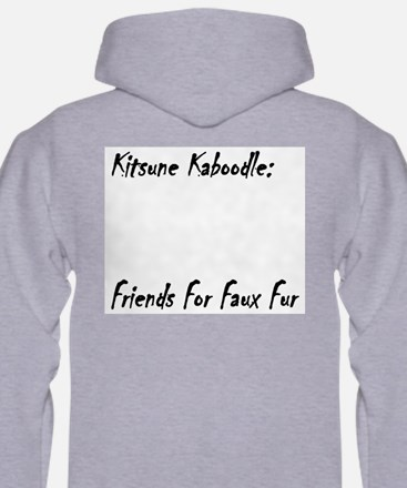 Nocturne the Cross Fox Hoodie
