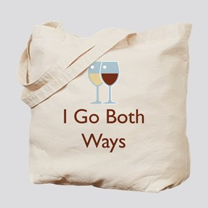 I Go Both Ways Tote Bag