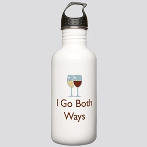 I Go Both Ways Stainless Water Bottle 1.0L