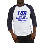 TSA Hands 2-sided Baseball Jersey