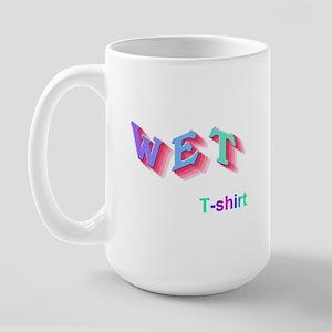 Wet T-shirt Contest  Large Mug