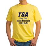 TSA Hands Yellow T-Shirt