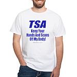 TSA Hands White T-Shirt